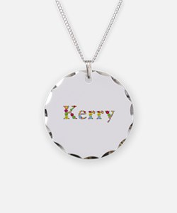 Kerry Bright Flowers Necklace