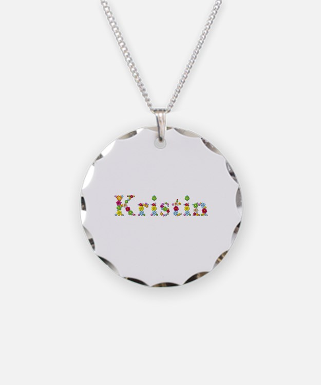 Kristin Bright Flowers Necklace