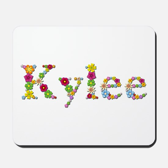 Kylee Bright Flowers Mousepad
