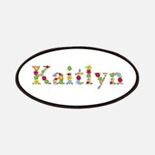 Kaitlyn Bright Flowers Patch