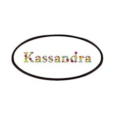 Kassandra Bright Flowers Patch