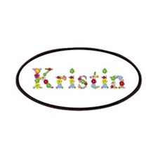 Kristin Bright Flowers Patch
