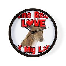 RealLoveOfMyLife Greyhound Wall Clock