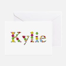 Kylie Bright Flowers Greeting Card