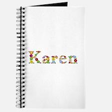 Karen Bright Flowers Journal