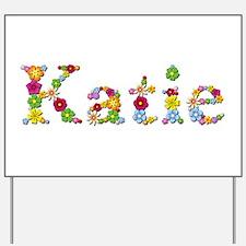 Katie Bright Flowers Yard Sign