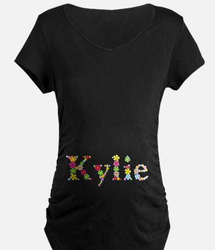 Kylie Bright Flowers T-Shirt