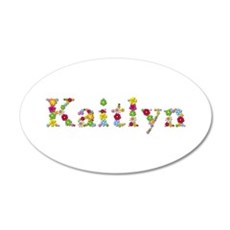 Kaitlyn Bright Flowers Wall Decal