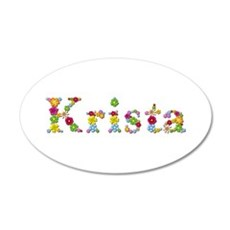 Krista Bright Flowers Wall Decal