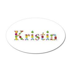 Kristin Bright Flowers Wall Decal