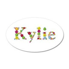 Kylie Bright Flowers Wall Decal