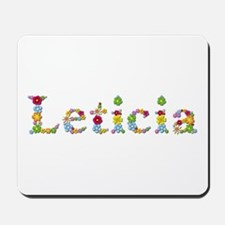 Leticia Bright Flowers Mousepad