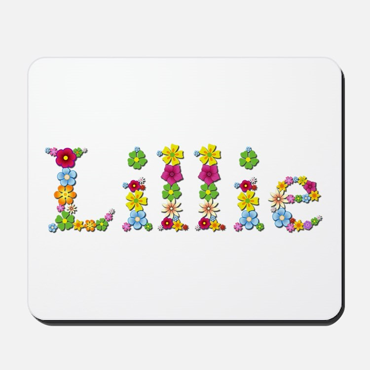 Lillie Bright Flowers Mousepad