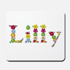 Lilly Bright Flowers Mousepad