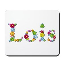 Lois Bright Flowers Mousepad