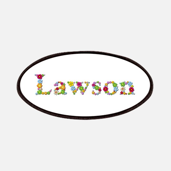Lawson Bright Flowers Patch