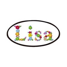 Lisa Bright Flowers Patch
