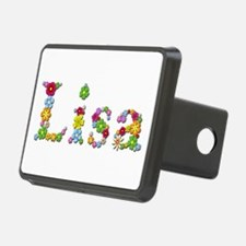 Lisa Bright Flowers Hitch Cover