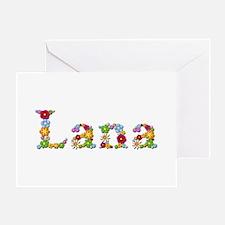 Lana Bright Flowers Greeting Card