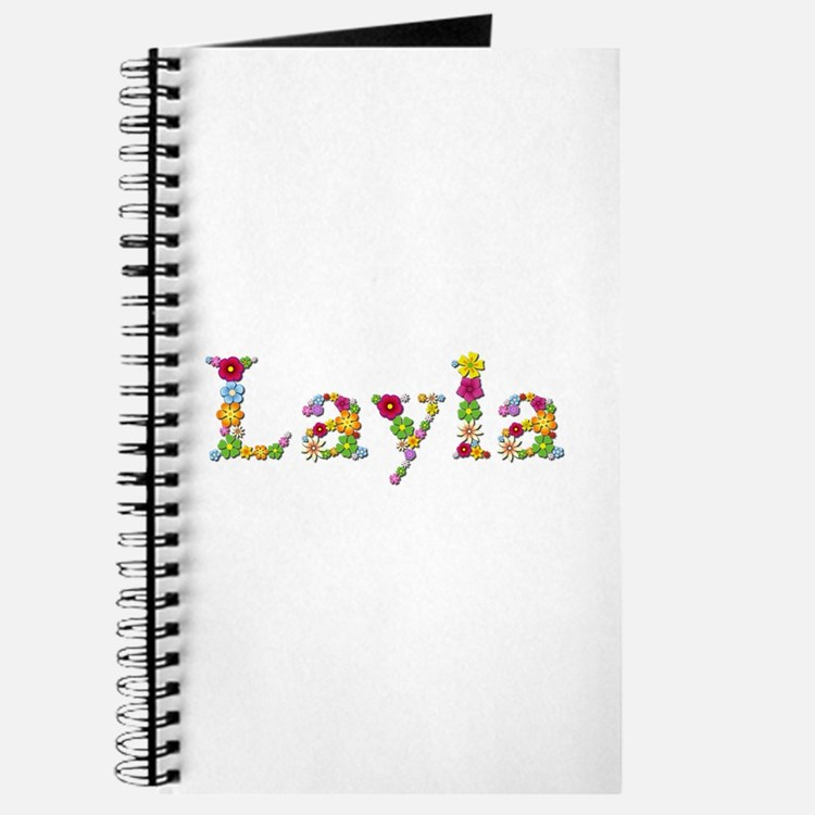 Layla Bright Flowers Journal