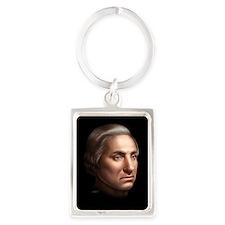 George Washington Portrait Keychain