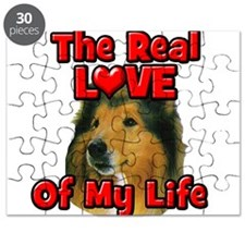 RealLoveOfMyLife Collie Puzzle