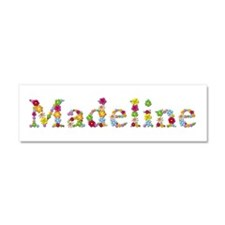 Madeline Bright Flowers 10x3 Car Magnet