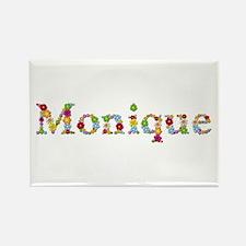 Monique Bright Flowers Rectangle Magnet