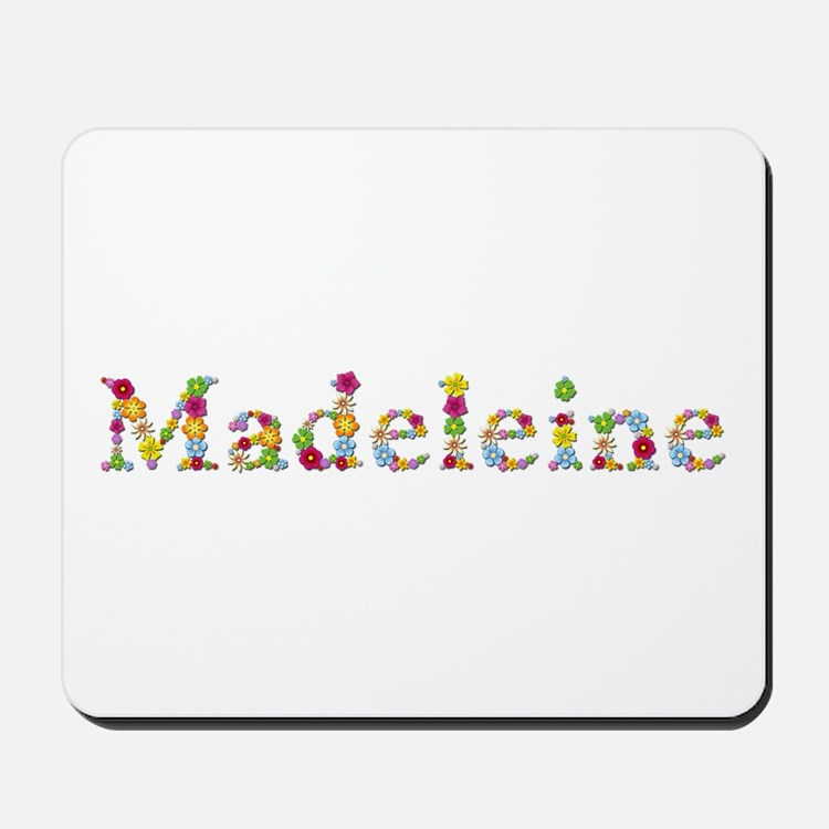 Madeleine Bright Flowers Mousepad