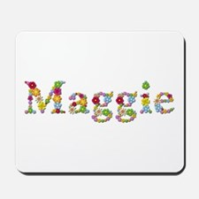Maggie Bright Flowers Mousepad