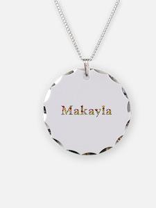 Makayla Bright Flowers Necklace