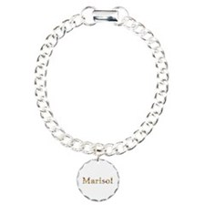 Marisol Bright Flowers Charm Bracelet