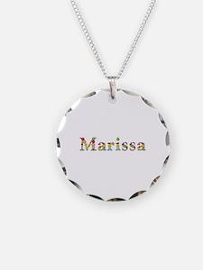Marissa Bright Flowers Necklace