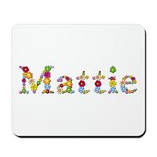 Mattie Bright Flowers Mousepad