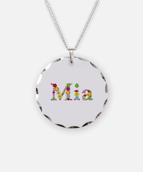 Mia Bright Flowers Necklace