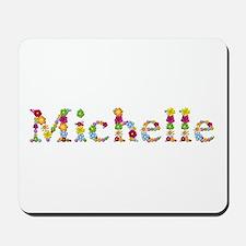 Michelle Bright Flowers Mousepad