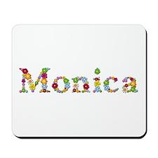 Monica Bright Flowers Mousepad