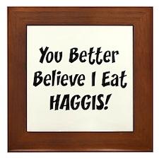 Haggis Framed Tile