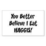 Haggis Rectangle Sticker