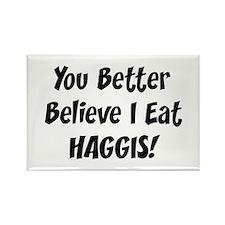Haggis Rectangle Magnet
