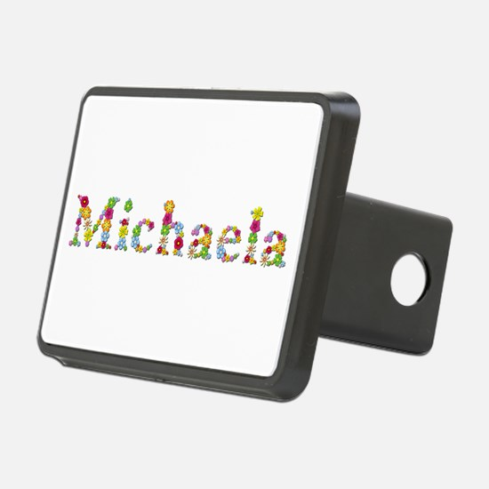 Michaela Bright Flowers Hitch Cover