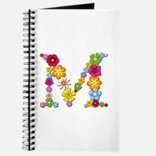 M Bright Flowers Journal