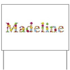Madeline Bright Flowers Yard Sign