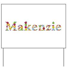Makenzie Bright Flowers Yard Sign