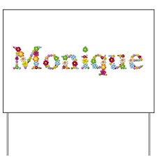 Monique Bright Flowers Yard Sign