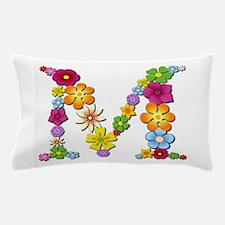 M Bright Flowers Pillow Case