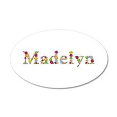 Madelyn Bright Flowers Wall Decal