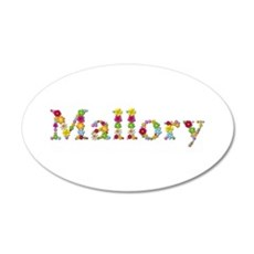 Mallory Bright Flowers Wall Decal
