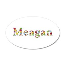 Meagan Bright Flowers Wall Decal