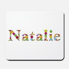 Natalie Bright Flowers Mousepad